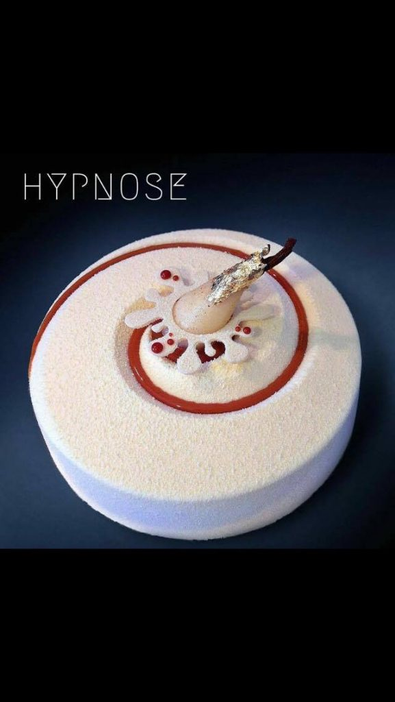 Hypnose de Benoît Mamasian - Moule Vortex de Silikomart